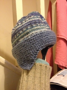 Earflap hat and tin can knits hat 007